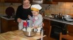Lilia e la torta pasquale DSCN9511