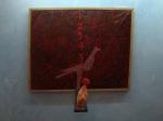 PARIDE BIANCO Autoritratto 2009 olio su tela 80x100
