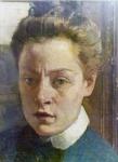1-Luisa Bufalini Viner, Autoritratto.