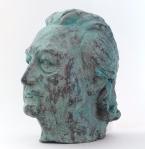 Marta Gierut, 'Omaggio a Piero Bigongiari', scultura in resina patinata con ossidi, h cm 28,5, 1995