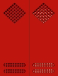 Vanna Nicolotti, Struttura rossa - Porta n. 8, 2014